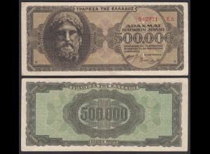 Griechenland - Greece 500.000 Drachmai 1946 Pick 126b VF (3) (25250