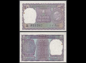 Indien - India - 1 RUPEES ND (1969-72) sig.8 Pick 66 aUNC (1-) (25261