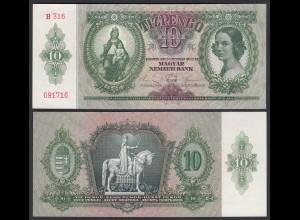 Ungarn - Hungary 10 Pengö 1936 Pick 100 UNC (1) (25293