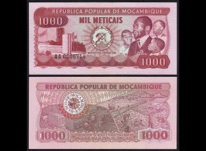 MOSAMBIK - MOZAMBIQUE 1000 Meticais 1980 Pick 128a UNC (1) (25348