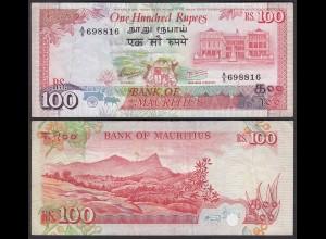 Mauritius - 100 Rupees Banknote (1986) Pick 38 ca. VF (3) (25352
