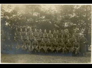 AK 1. Weltkrieg Militär Pickelhaube Soldaten Foto (2651