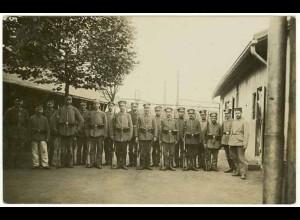 AK 1. Weltkrieg Militär 1917 Soldaten Foto (2652