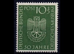 BRD - Bund Mi-Nr. 163 postfrisch 1953 Deutsches Museum KW 28 €