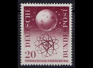 BRD - Bund Mi-Nr. 214 postfrisch 1955 Forschungsförderung KW 12,00 €