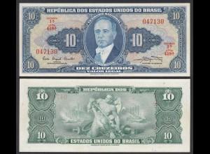 Brasilien - Brazil 10 Cruzados Pick 167a sig.9 UNC (1) (25401