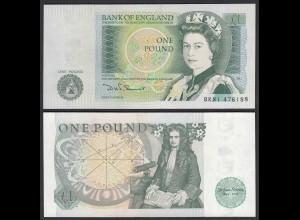Grossbritannien - Great Britain 1 POUND ND (1981-84) Pick 377b UNC (1) (25431