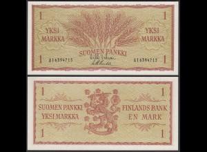 FINNLAND - FINLAND 1 MARKKA 1963 PICK 98a UNC (1) (25441