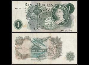 Grossbritannien - Great Britain 1 POUND ND (1960-61) Pick 374a VF (3)