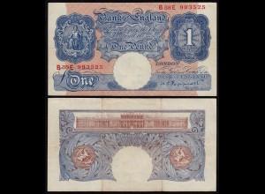 Grossbritannien - Great Britain 1 Pound ND (1940-48) Pick 367a VF (3)