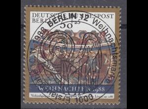 Berlin Weihnachten 1988 Michel 829 ESST Vollstempel (25537