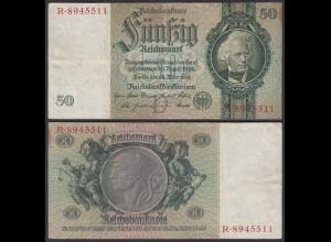Reichsbanknote 50 RM 1933 Ro.175a VF KN D-R (25539