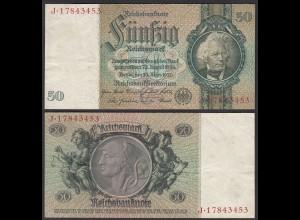 Reichsbanknote 50 RM 1933 Ro.175b VF KN C-J (25540