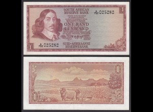 Südafrika - South Africa 1 Rand (1967) Pick 109b XF (2) (25554