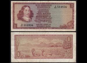 Südafrika - South Africa 1 Rand (1975) Pick 116b F (4) (25561