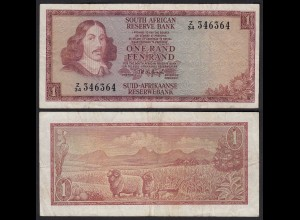 Südafrika - South Africa 1 Rand (1967) Pick 109b F (4) (25564