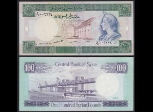 SYRIEN - SYRIA 100 Pounds 1978 Pick 104b XF (2) (25584