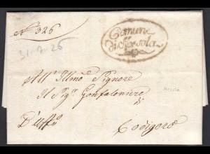 ITALIEN-ITALY Brief 1826 MESOLA nach CODIGORO (25593