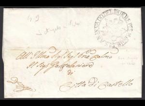 ITALIEN Brief 1829 Sant'Angelo in Vado - CITTA DI CASTELLOt (25595