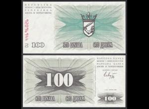 Bosnien Herzegovina - 100 Dinara 1992 UNC (1) (25647