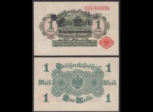 Darlehnskassenschein 1 MARK 1914 Ros. 51b UNC (1) (25652