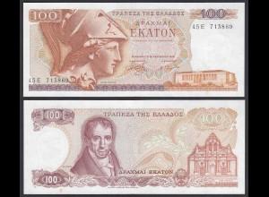 Griechenland - Greece 100 Drachmai 1978 Pick 200 UNC (1) (25664