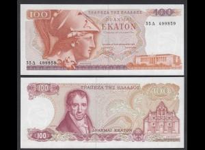 Griechenland - Greece 100 Drachmai 1978 Pick 200 aUNC (1-) (25665