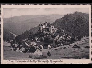 AK Lauenstein mit Burg 1939 (12643