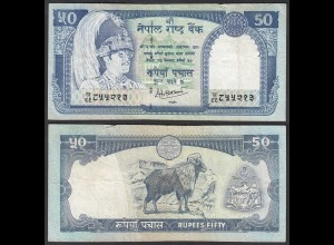 Nepal - 50 Rupees Pick 33c Sig.14 VF (3) (25678
