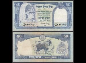 Nepal - 50 Rupees Pick 33b Sig.12 VF (3) (25680