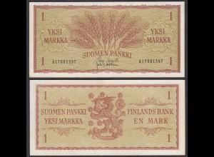 Finnland - Finland 1 Markka Banknote 1963 Pick 98 XF (2) (25703