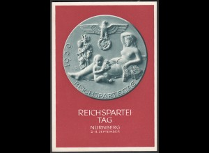 AK NS Militaria Propaganda Karte 3.Reich Reichsparteitag Nürnberg 1939 (25775