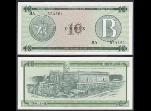 Kuba - Cuba 10 Peso Foreign Exchange Certificates 1985 Pick FX8 UNC (1) (25714