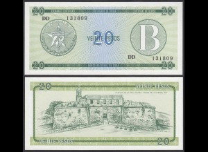 Kuba - Cuba 20 Peso Foreign Exchange Certificates 1985 Pick FX9 UNC (1) (25715