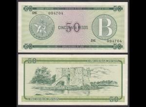 Kuba - Cuba 50 Peso Foreign Exchange Certificates 1985 Pick FX10 XF (2) (25716