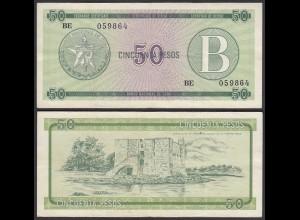 Kuba - Cuba 50 Peso Foreign Exchange Certificates 1985 Pick FX10 VF (3) (25717