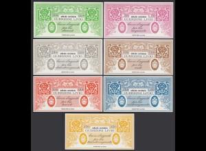 Italien - Italy 50-350 Lire Serie (7) BUONO D´ACQUISTO GUERZONI LIVIO 1976