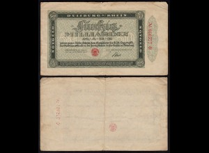 Duisburg 50 Milliarden Mark 1923 Notgeld VG (5) (25829