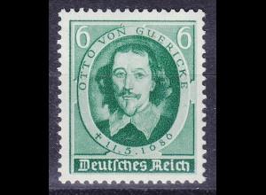 Deutsches Reich DR Mi. 608 ** Otto v.Guericke 3.Reich 1936 (10730