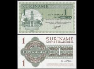 Suriname - 1 Gulden Banknoten 1984 UNC (1) Pick 116h (14163