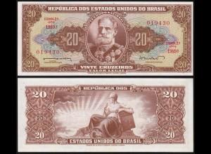 Brasilien - Brazil 50 Cruzado (1962) Pick 178 UNC (1) Sig.11 (14123