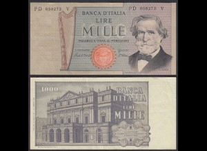 Italien - Italy 1000 Lire Banknote 1981 Pick 101h VF (3) (24265