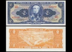 Brasilien - Brazil 2 Cruzaros (1954/58) Pick 151a sig.2 UNC (1) (14112