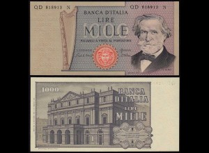 Italien - Italy 1000 Lire Banknote 1980 Pick 101g UNC (1) (14376