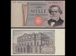 Italien - Italy 1000 Lire Banknote 1973 Pick 101c UNC (1) (14377