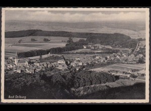 AK 1944 Bad Driburg Gesamtansicht Inhalt letztes Kriegs-Jahr (25911