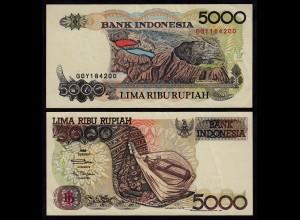 INDONESIEN - INDONESIA 5000 RUPIAH 1992/1996 Pick 130e VF (3) (17935