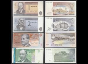 Estland - Estonia 1, 2, 5, 25 Krooni Banknoten 1992/07 UNC (1) (24614