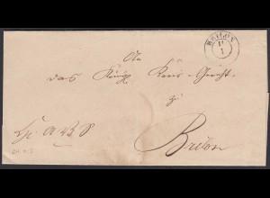 Preussen Umschlag BRILON K2 als Ortsbrief (24573