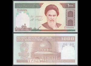 IRAN (Persien) - 1000 RIALS (1992) Sign 31 Pick 143d UNC (1) (26032